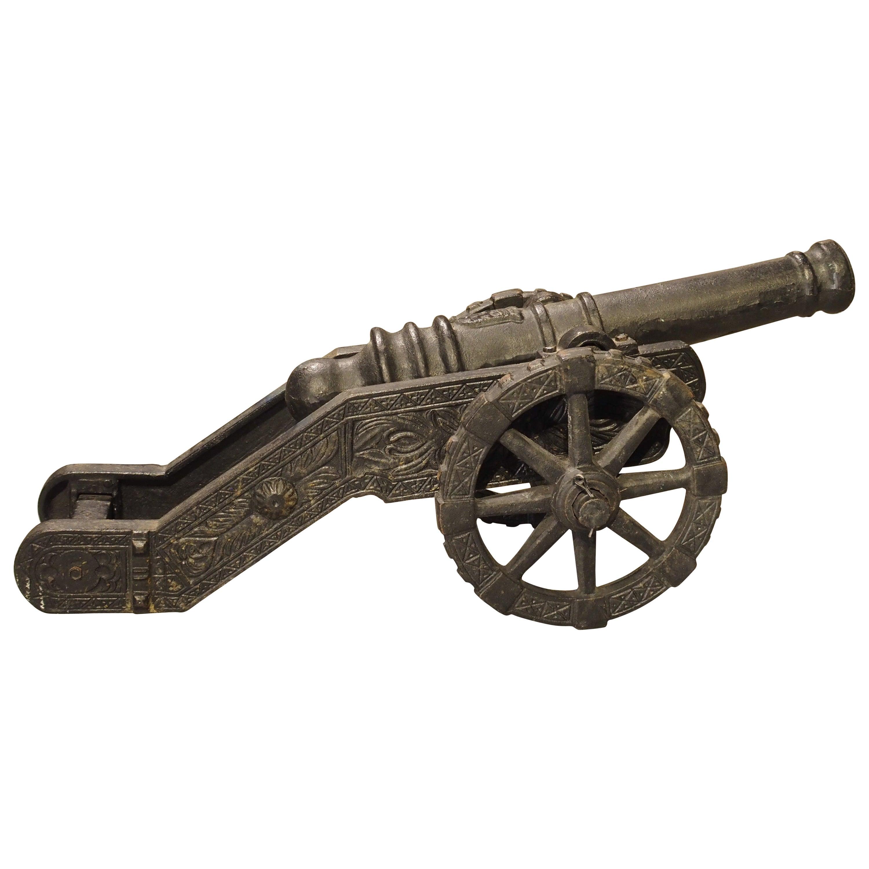 Cast Iron Cannon Model, circa 1900