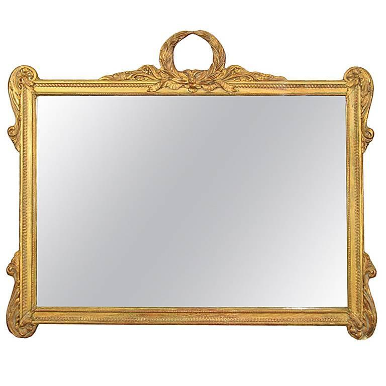 Neoclasical Italian Mirror For Sale