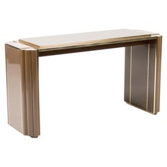 Console Table by Alain Delon for Maison Jansen