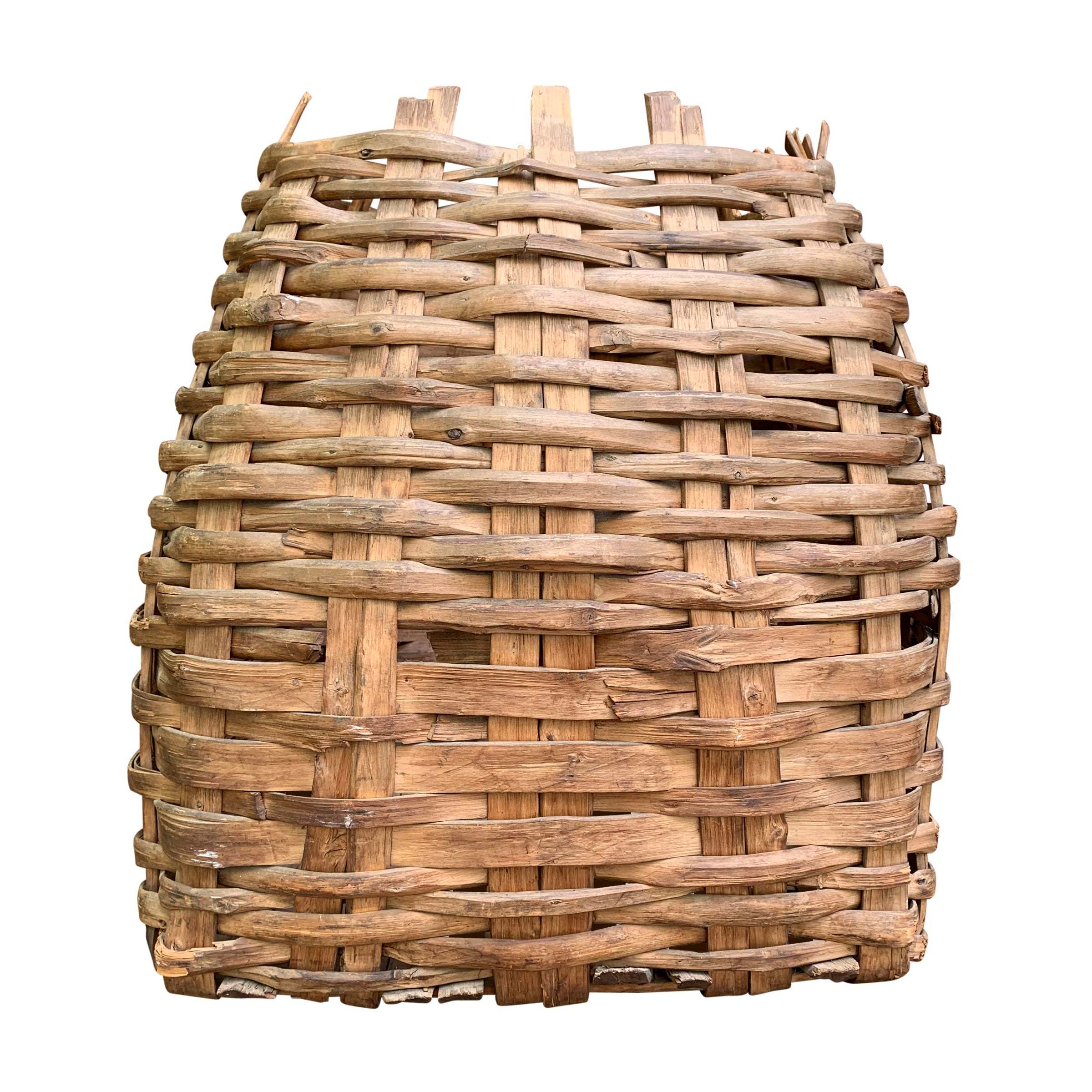 Large 19th Century American Nut Basket