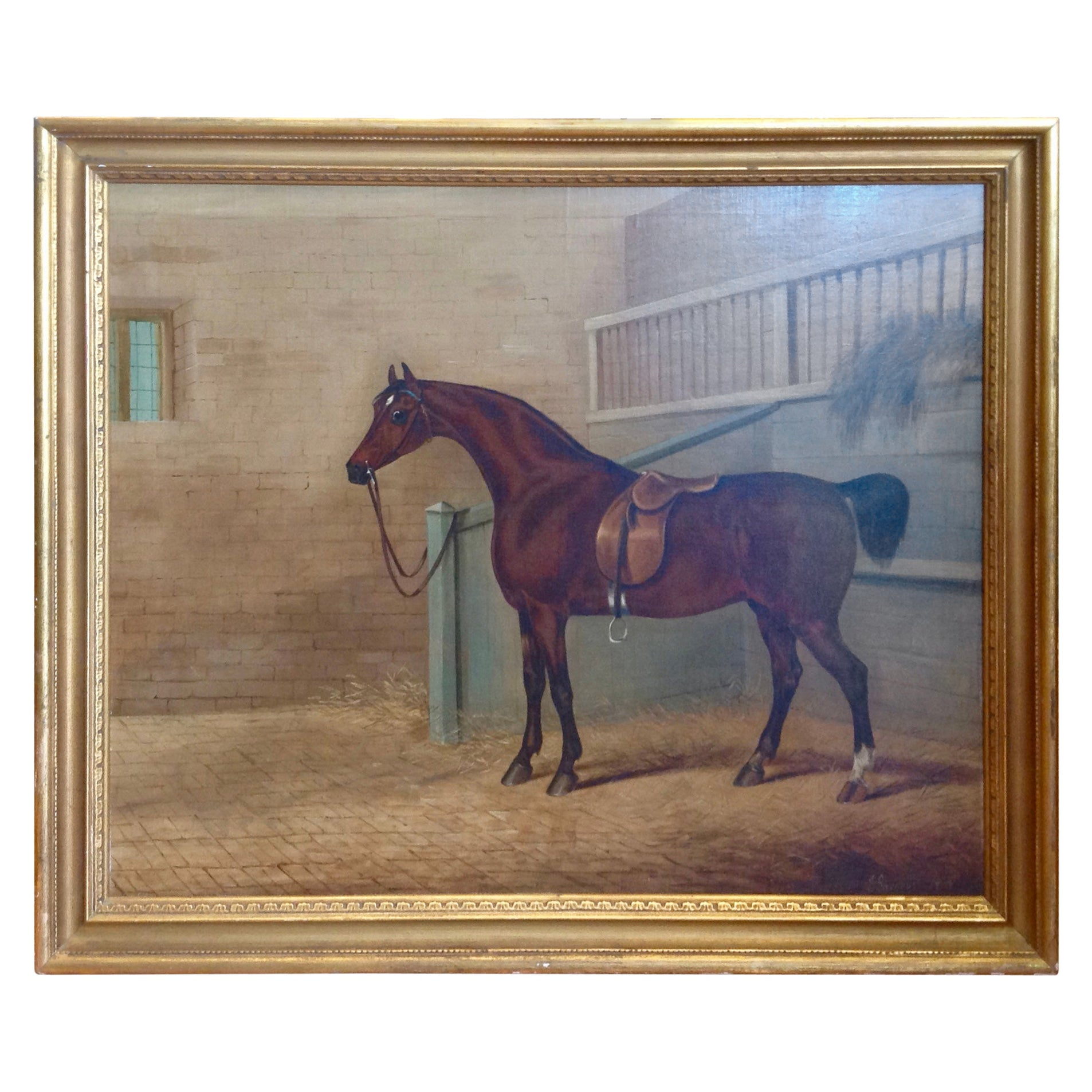 Early 19th Century English Study of a Horse