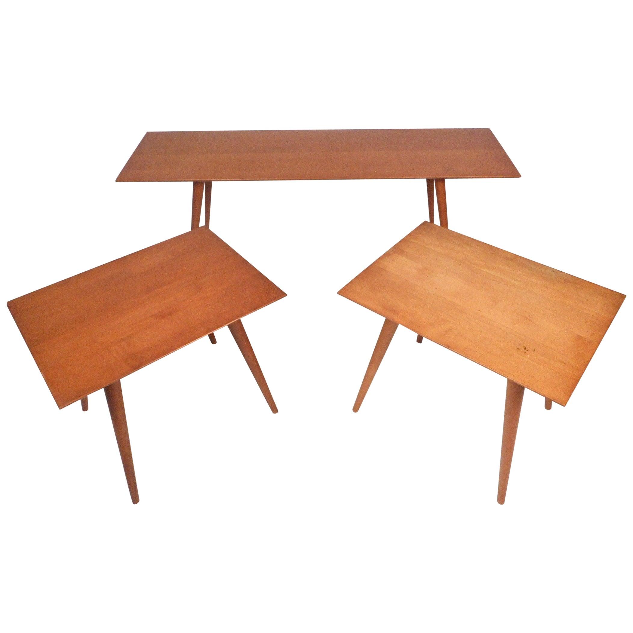 Midcentury Coffee Table Set by Paul McCobb