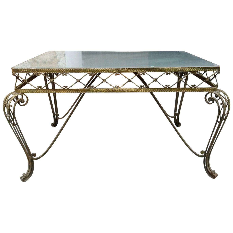 Midcentury Regency Italian Console Table by Pier Luigi Colli, 1950s