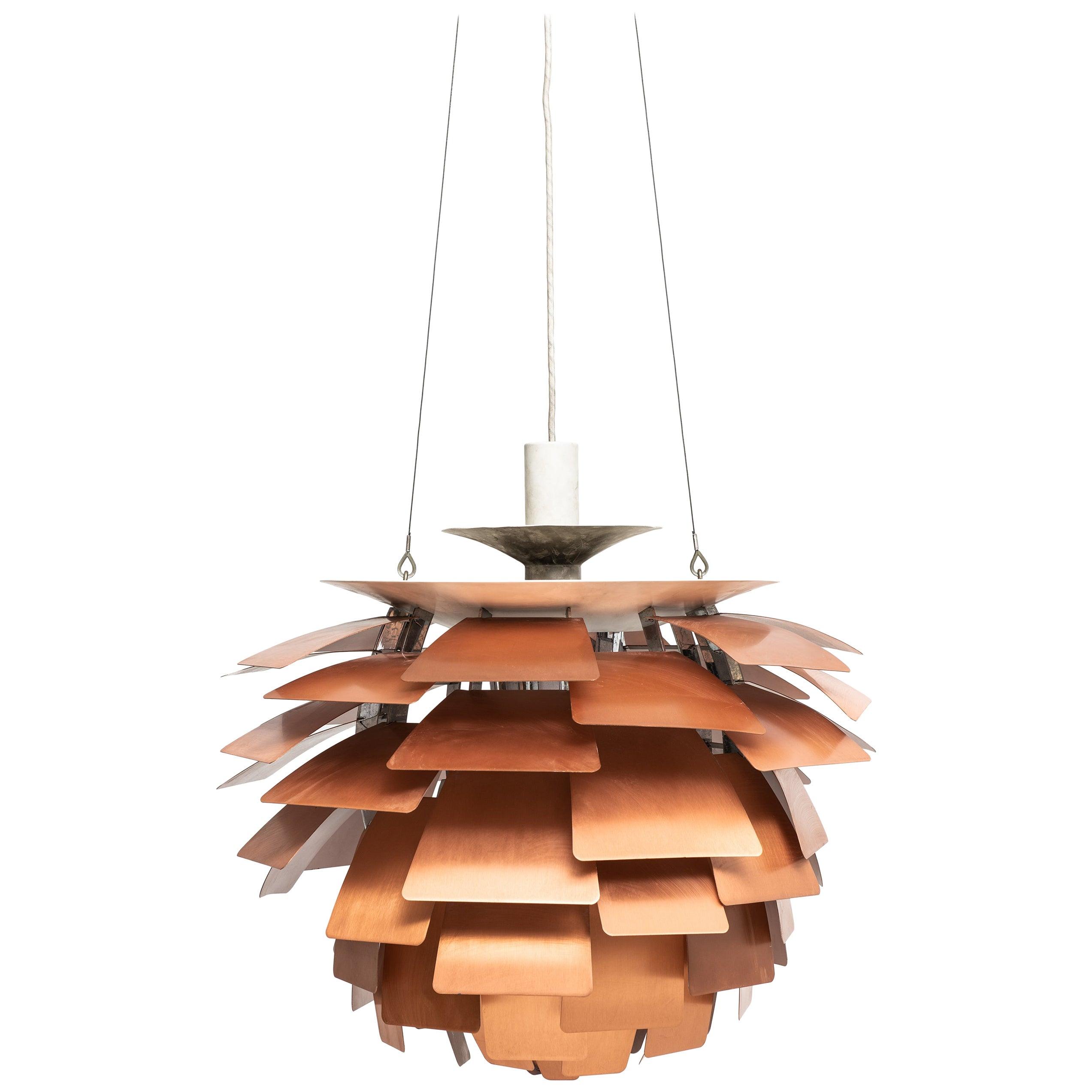 Poul Henningsen Artichoke Ceiling Lamp Produced by Louis Poulsen in Denmark