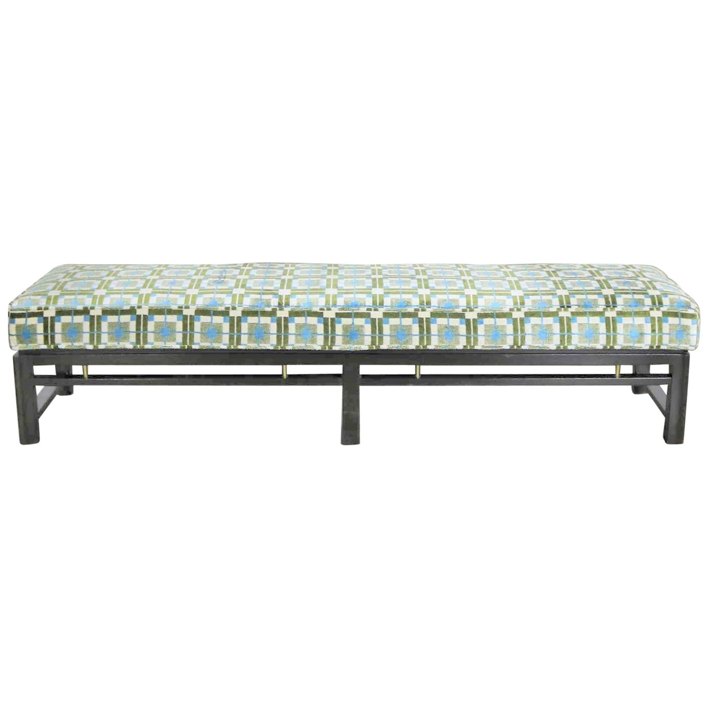 Edward Wormley for Dunbar Mid-Century Modern Bench Newly Upholstered