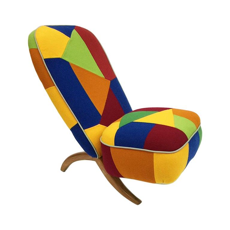 """Theo Ruth """"Congo"""" lounge chair for Artifort, 1950s"""