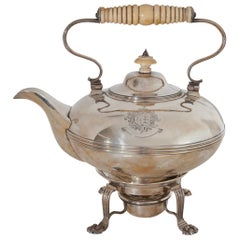George IV Silver Tea Pot, Dublin, 1828-1829
