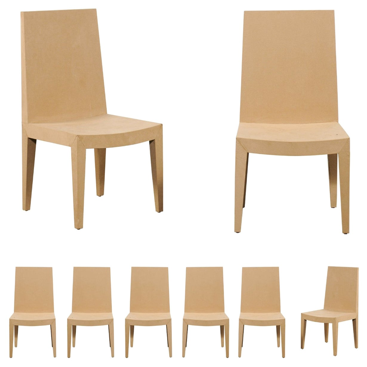 Set of Eight Parsons Chairs