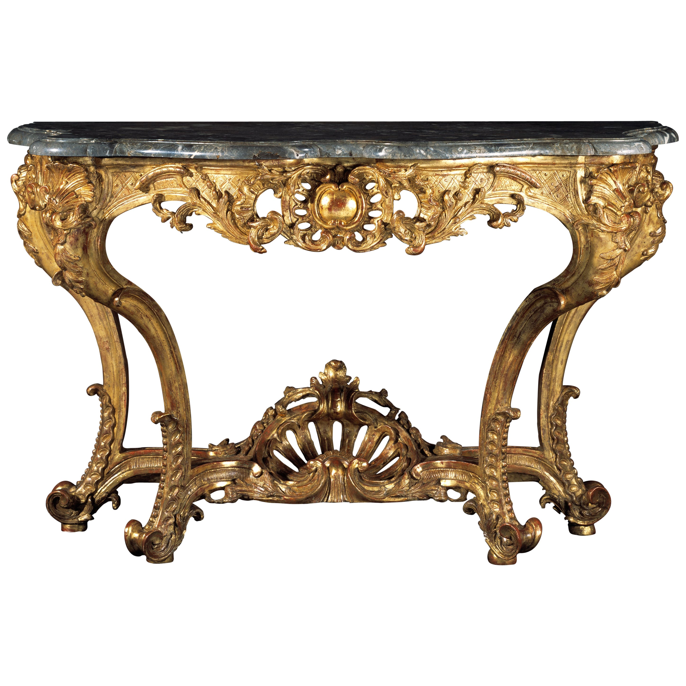 Large Early 18th Century Regence Console Table