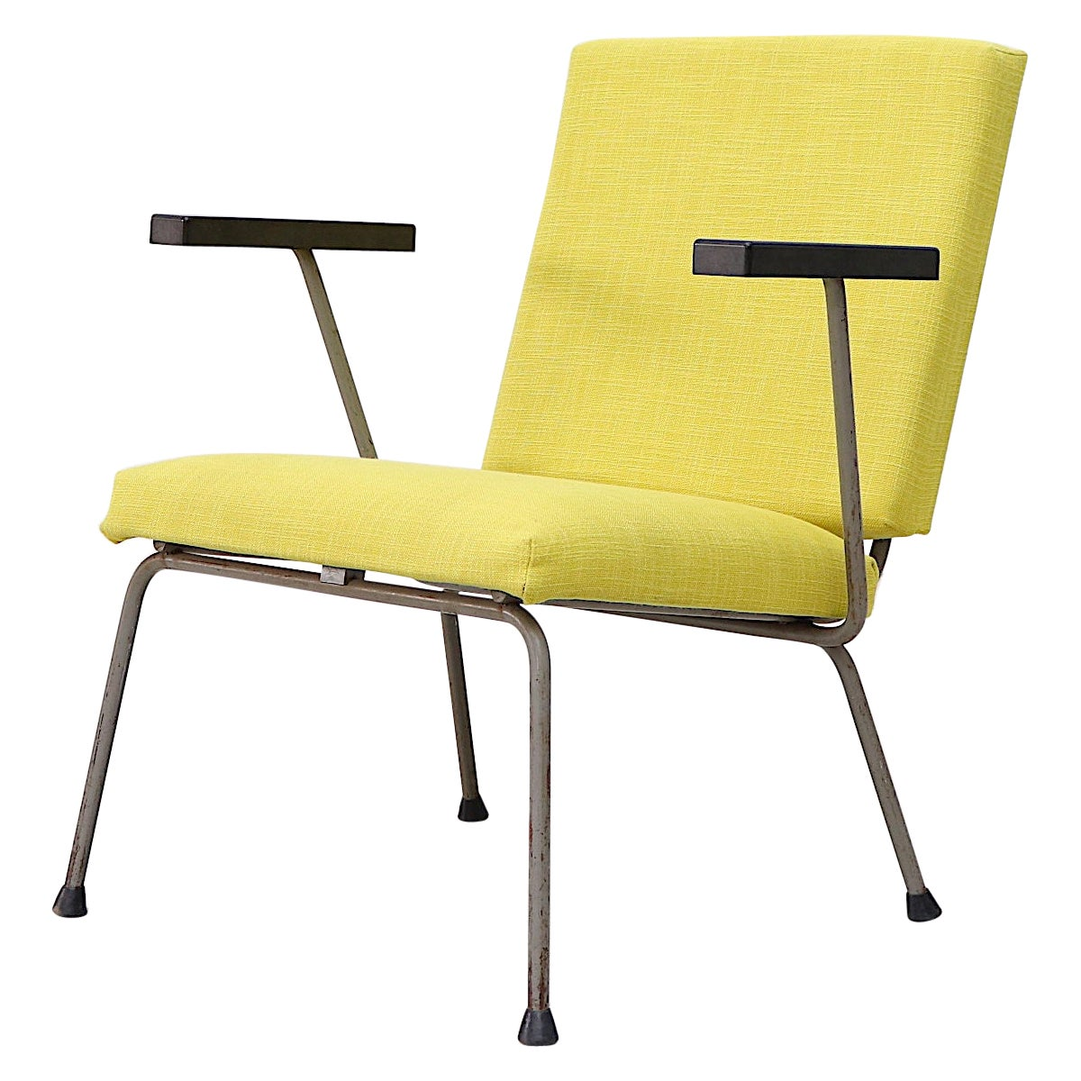 Wim Rietveld 1401 Chair For Gispen Lounge Chair