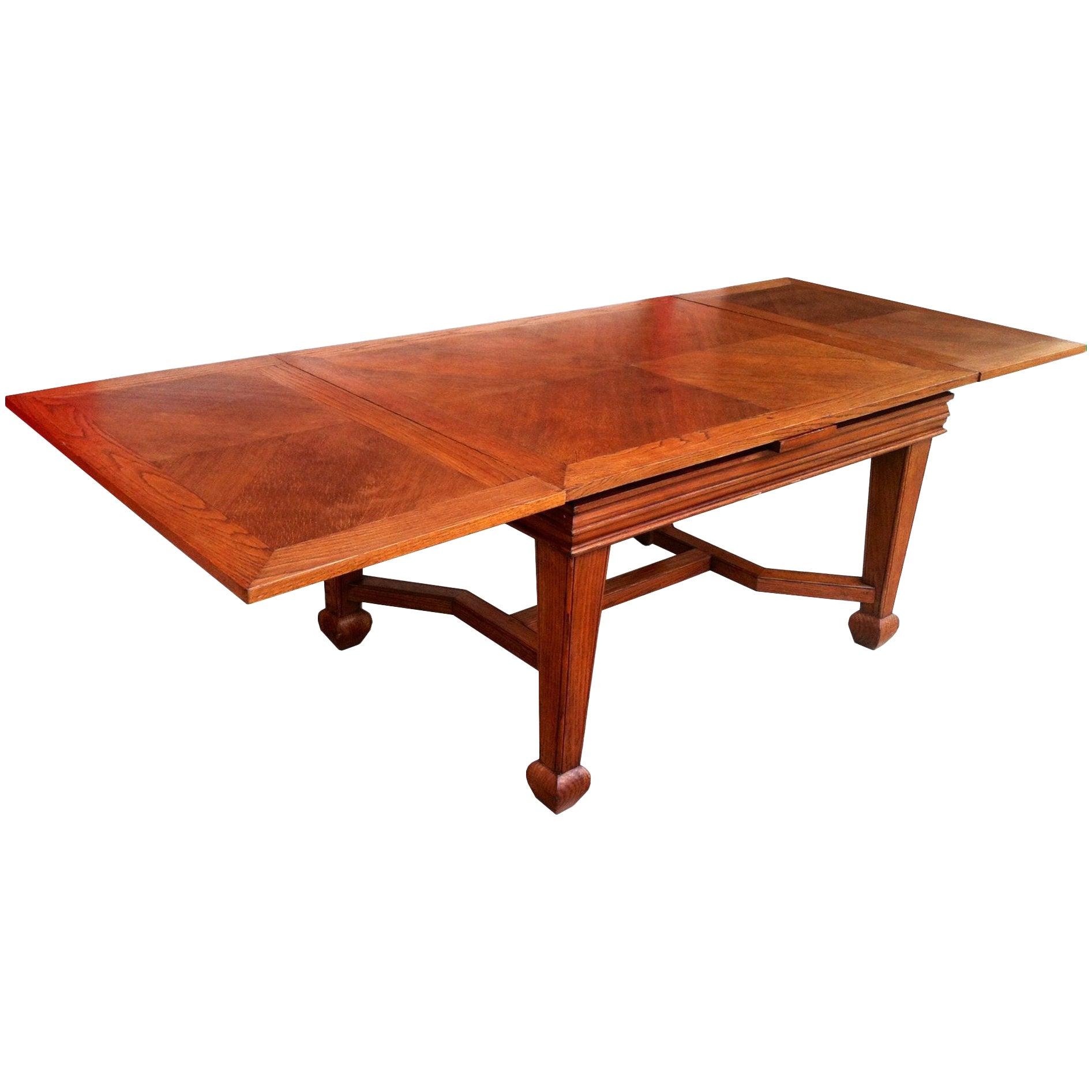 Large Expandable Dining or Conference Table, France