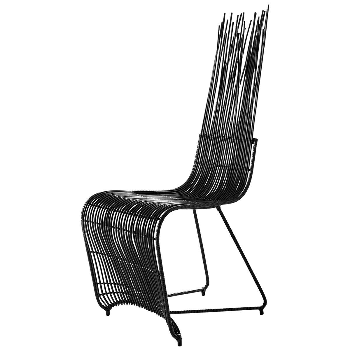 Bundle Dining Chair in Black Finish