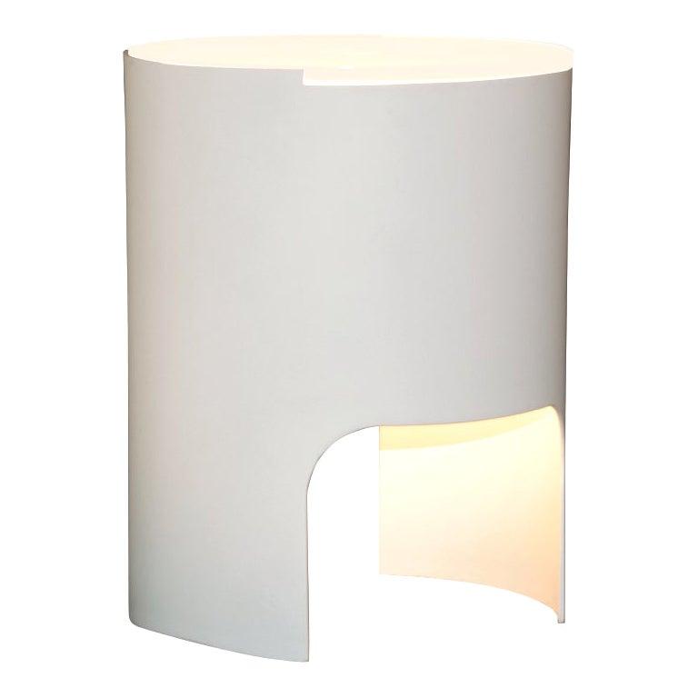 Martinelli Luce Civetta 804 Table Lamp in White Structure by Emiliana Martinelli
