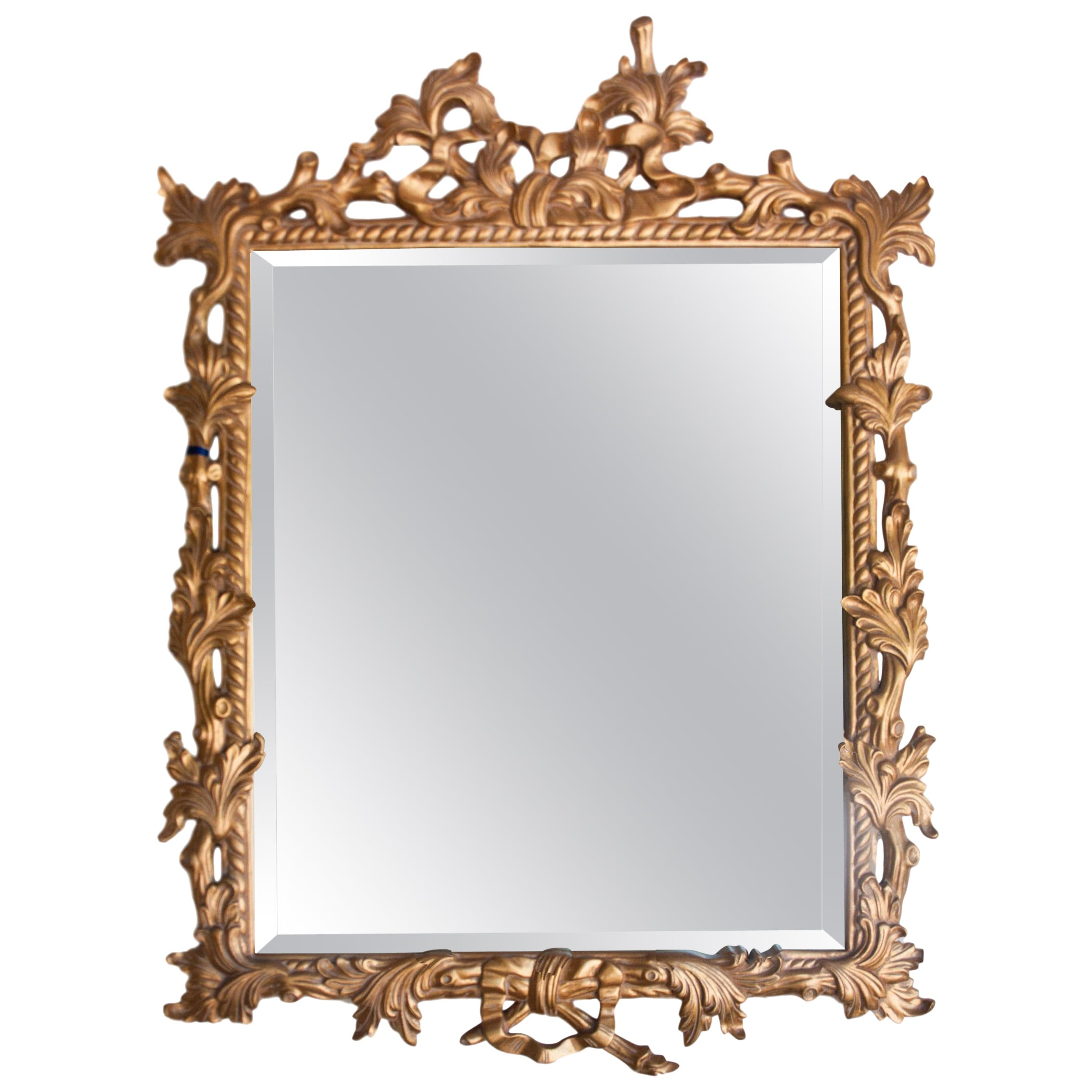 Hand Carved and Gilded Mirror, English