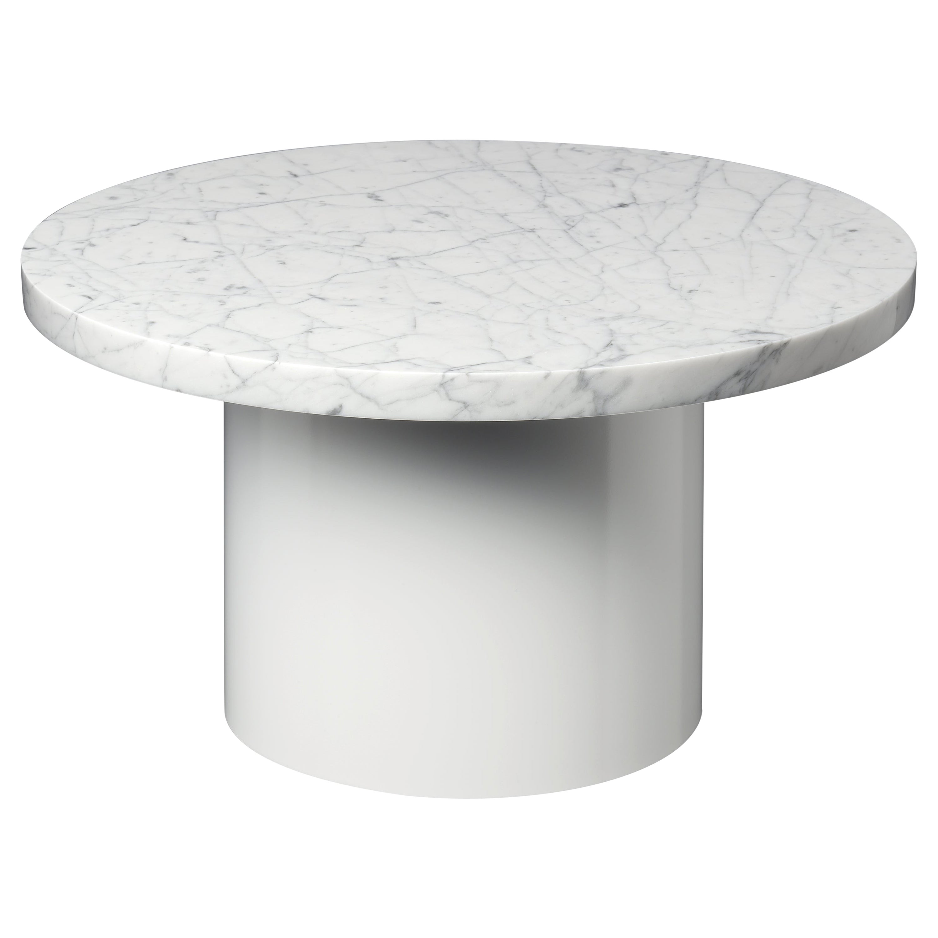 e15 Enoki Side Table with White Base by Philipp Mainzer