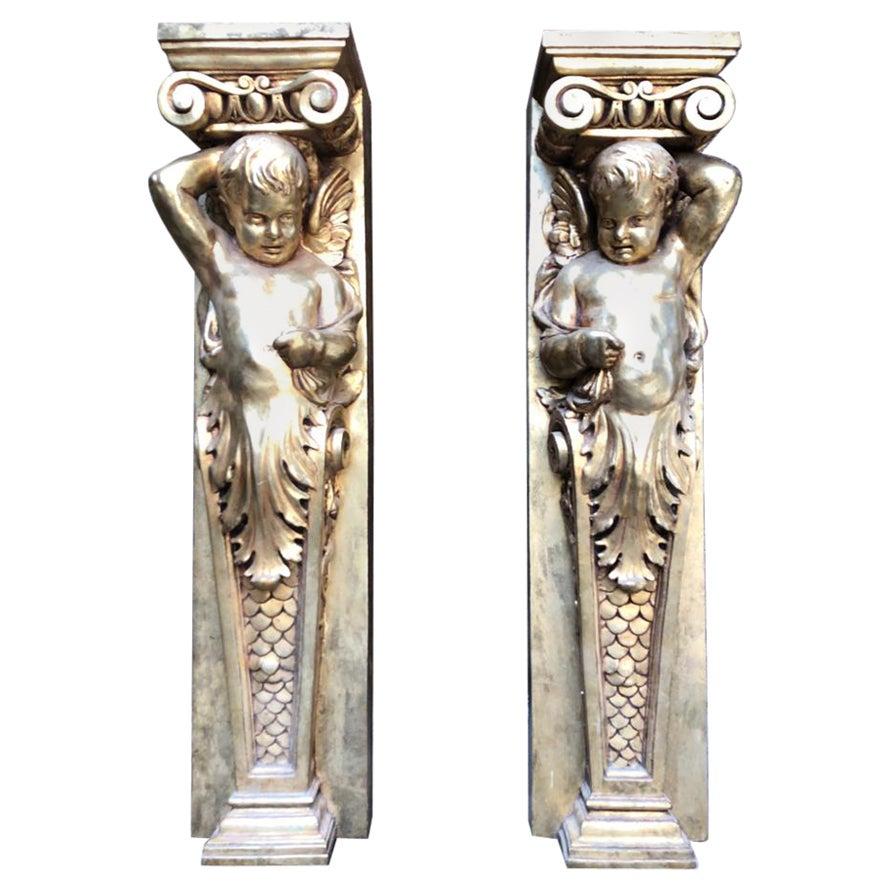 20th Century Ionic Columns