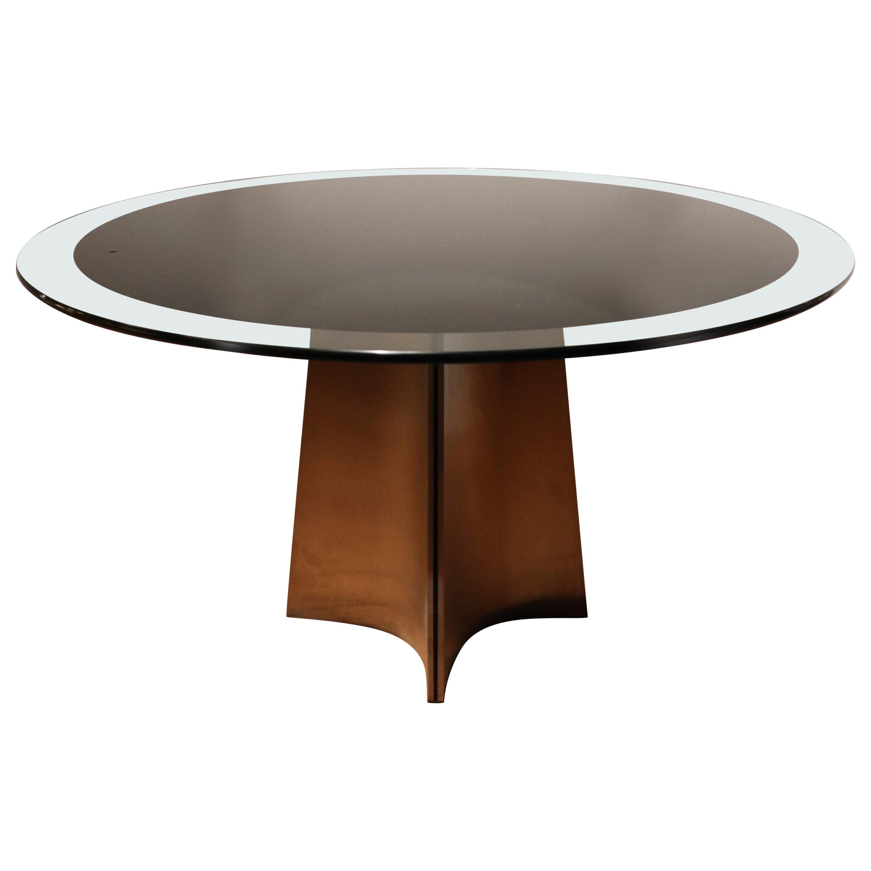 Dining Table by Luigi Saccardo for Maison Jansen, France, 1970s