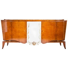Art Deco Sideboard, Probably France, 1940s