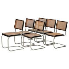 6 Ernst Koller Prototype Cantilever Chairs, 1934