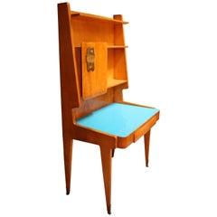 Rare Italian Midcentury Desk Bookcase by Vittorio Dassi