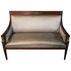 Original Empire Sofa circa 1860-1870 from an Empire Room