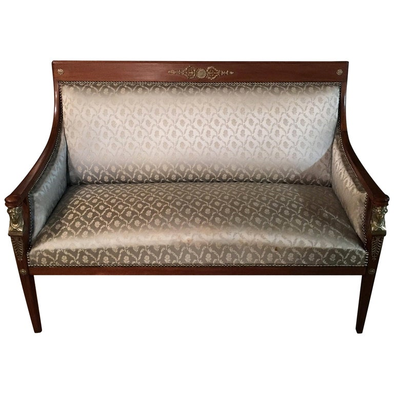 Original Empire Sofa Circa 1860 1870