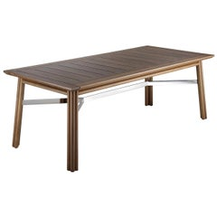 Maxim Natural Rectangular Table by Braid Outdoor