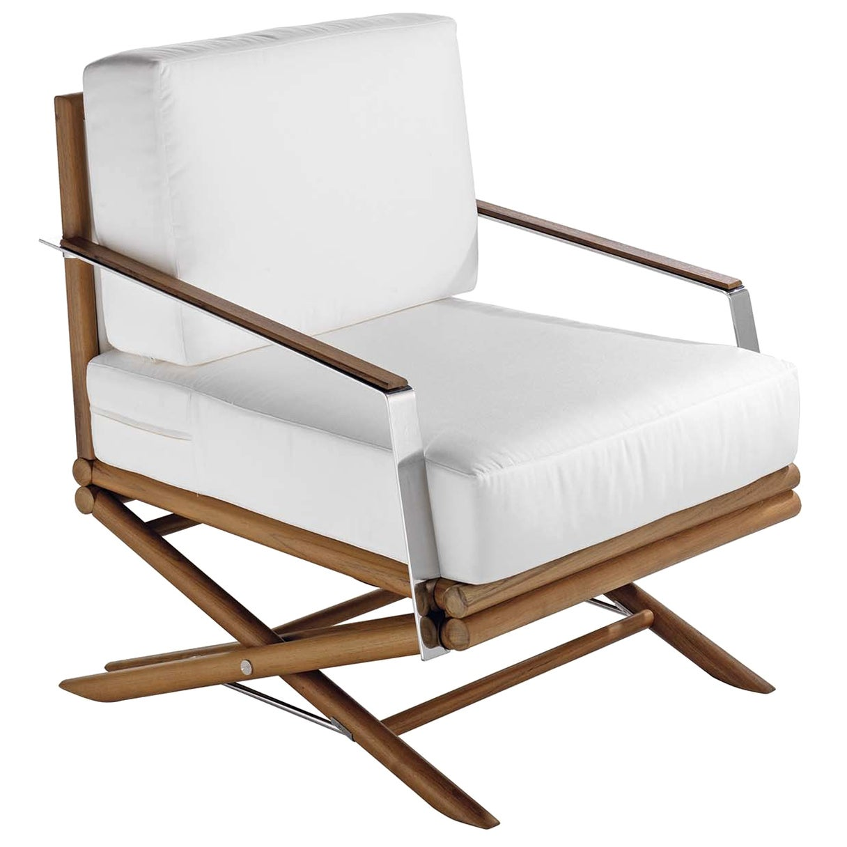 Maxim White Armchair by Braid Outdoor