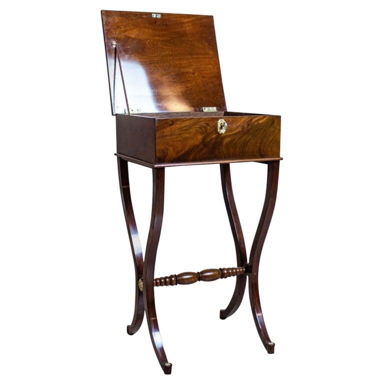 19th Century Biedermeier Sewing Table