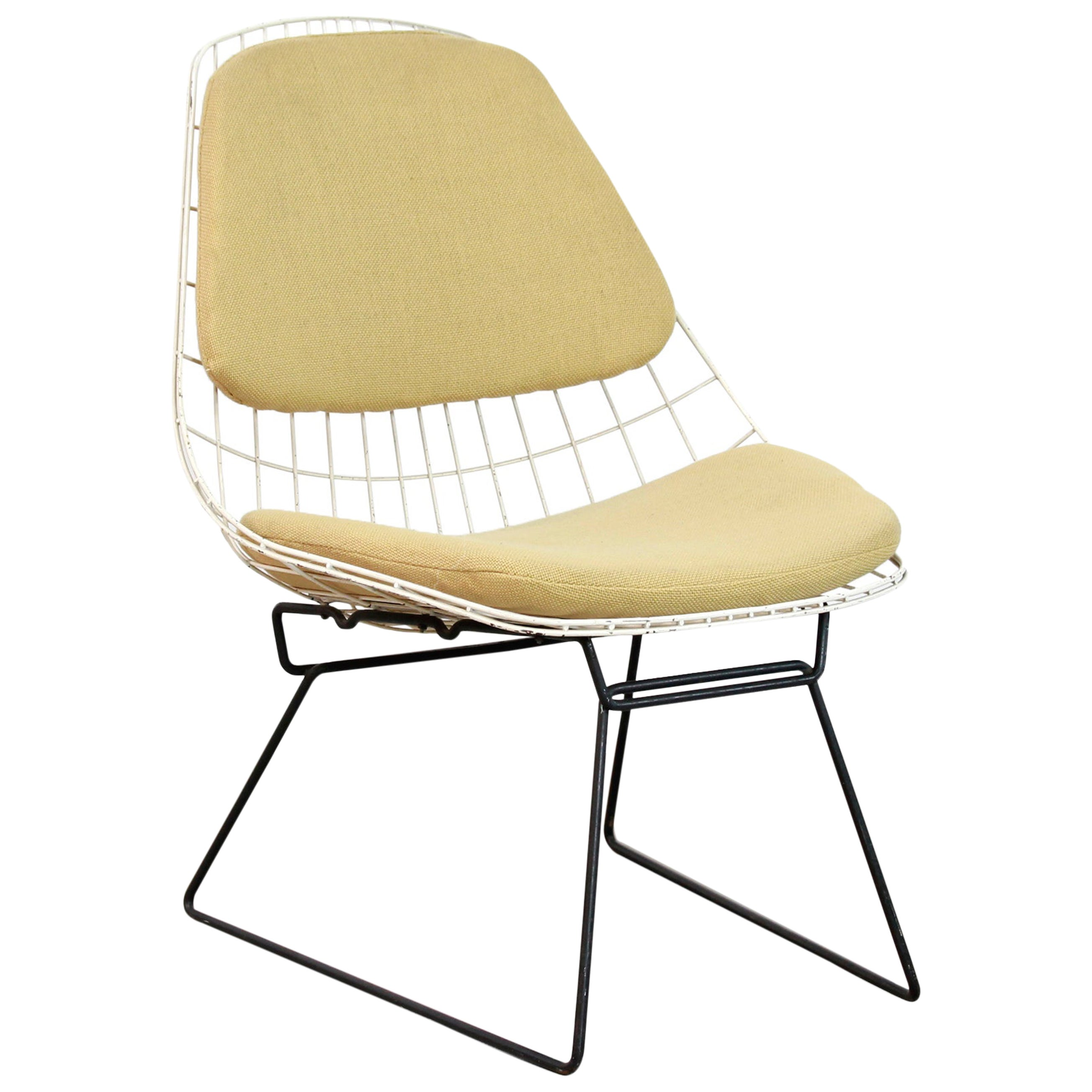 Dutch Industrial Pastoe FM05 Wire Chair by Cees Braakman, 1950s