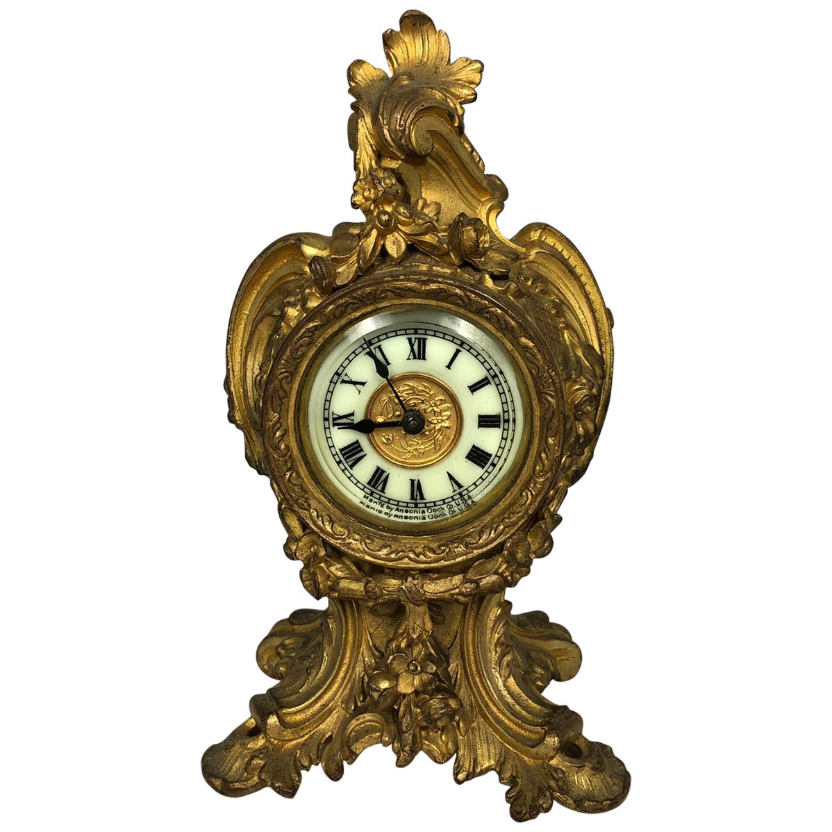 Louis XVI Style Mantle Clock, Late 19th Century