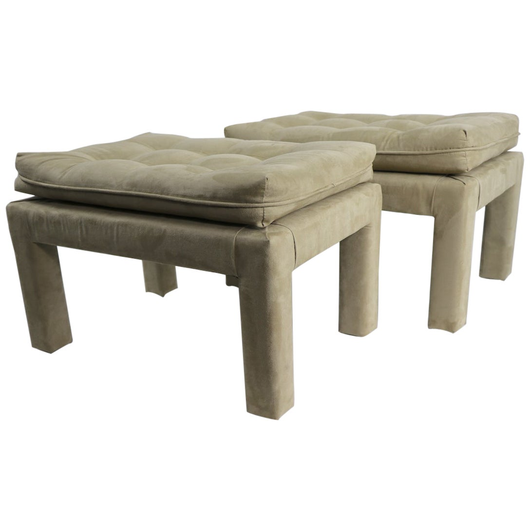 Pair of Stools After Billy Baldwin