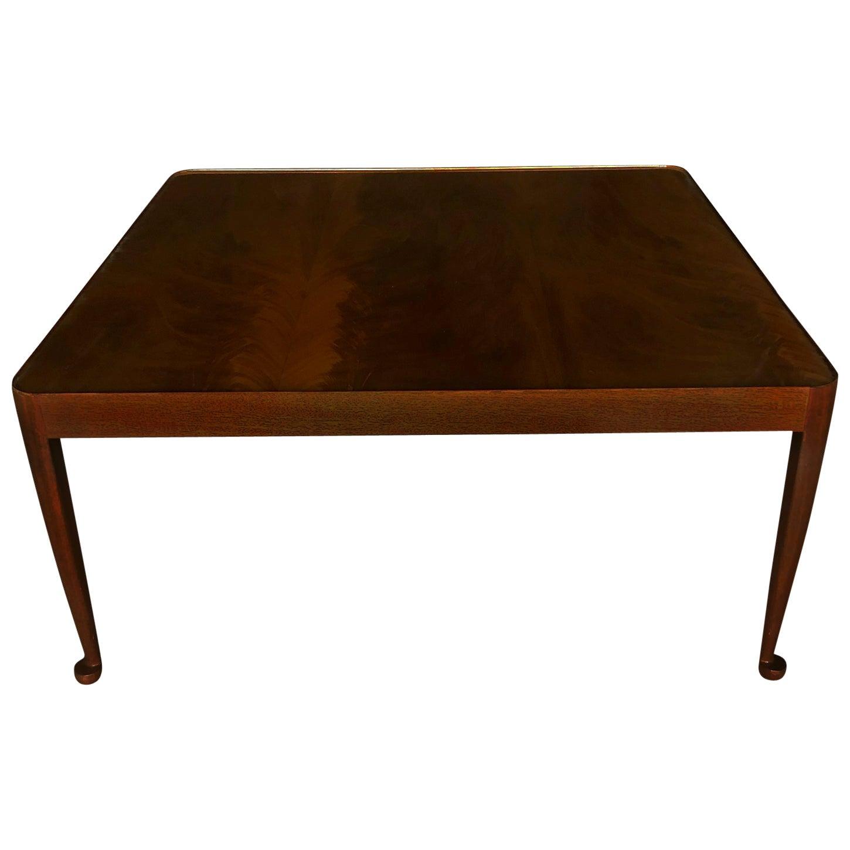 20th Century Swedish Svenskt Tenn Sofa Table, Diplomat Table by Josef Frank