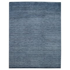 21st Century Modern Textured High Low Wool Rug