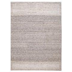 21st Century Contemporary  Textured Loop Wool Rug