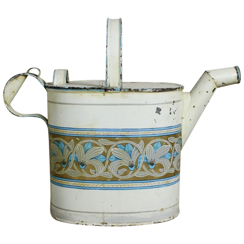 19th Century Tole Water Carrier