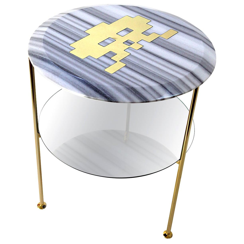 Tabù Marble BedBoy Side Table