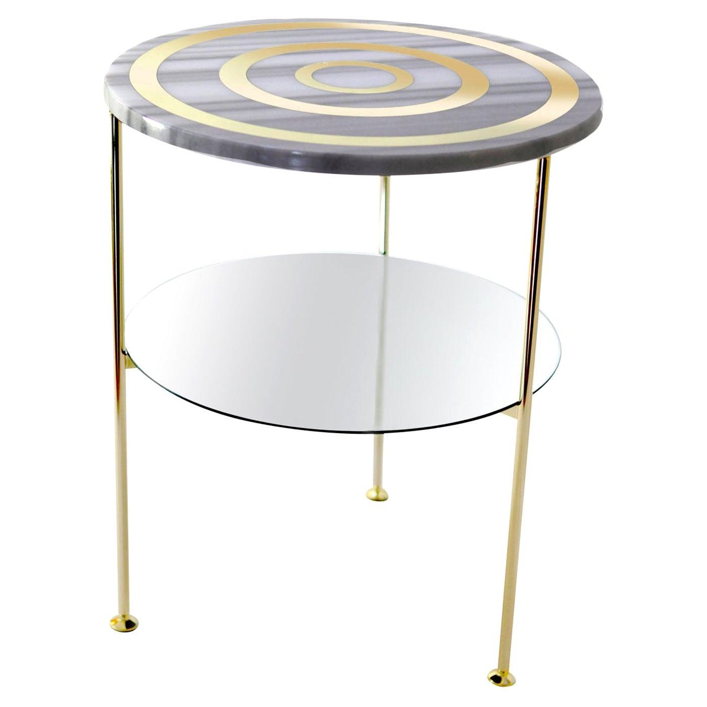 Tabù Marble Aims Side Table