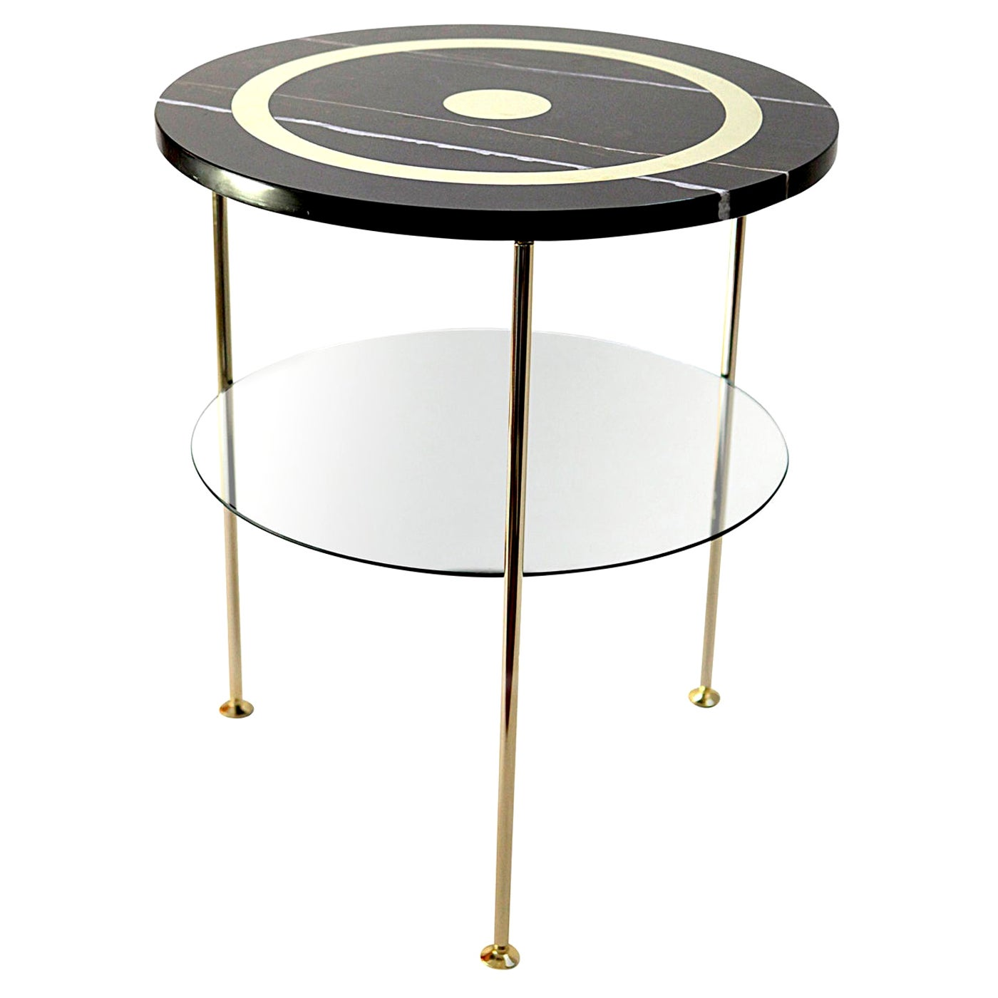 Tabù Marble Heart Side Table