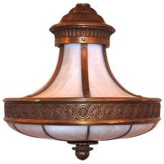 Neoclassic Leaded Glass Lantern