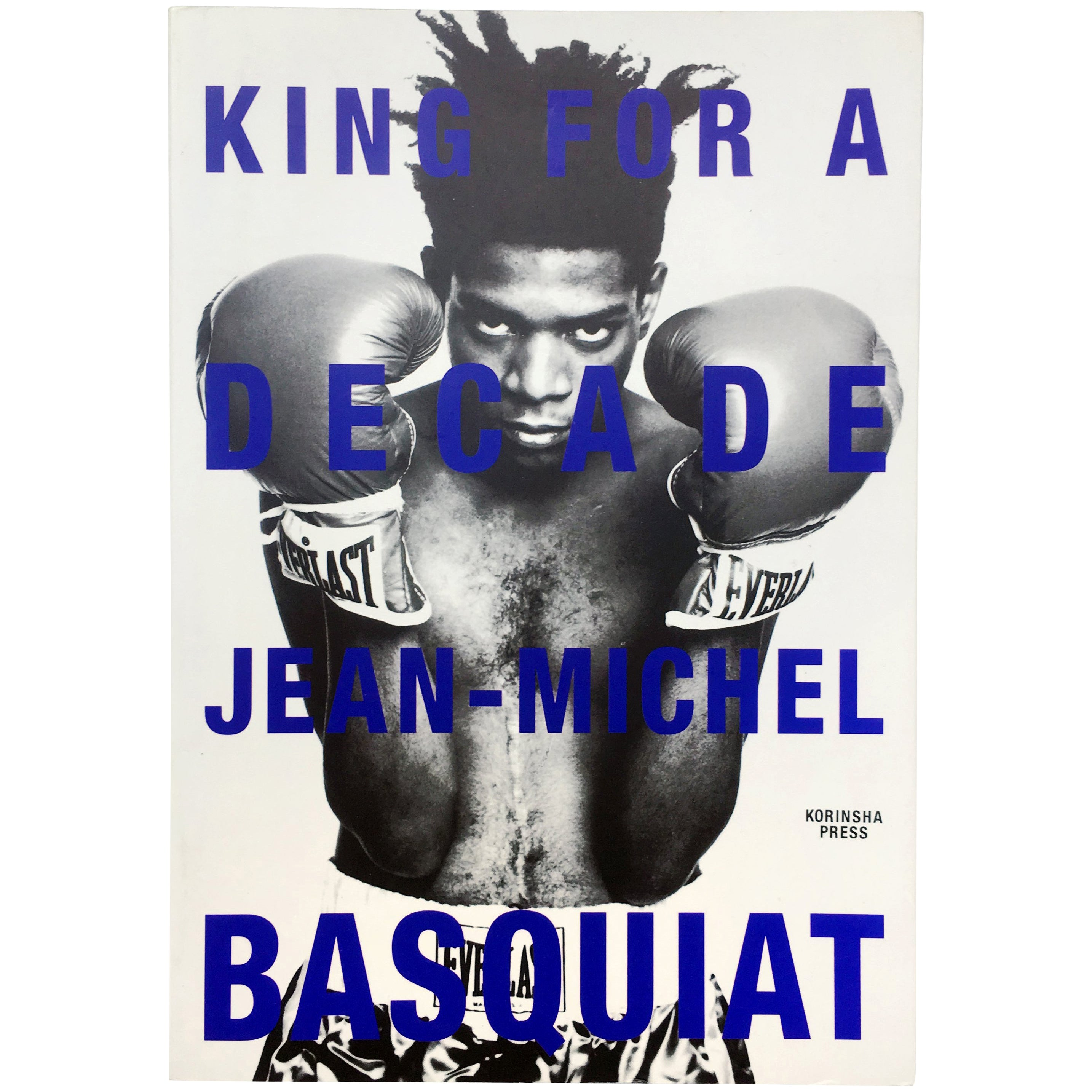 Jean Michel-Basquiat, King for a Decade, 1997 Book