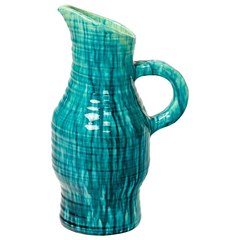 Ceramic Pitcher by Accolay, circa 1960-1970