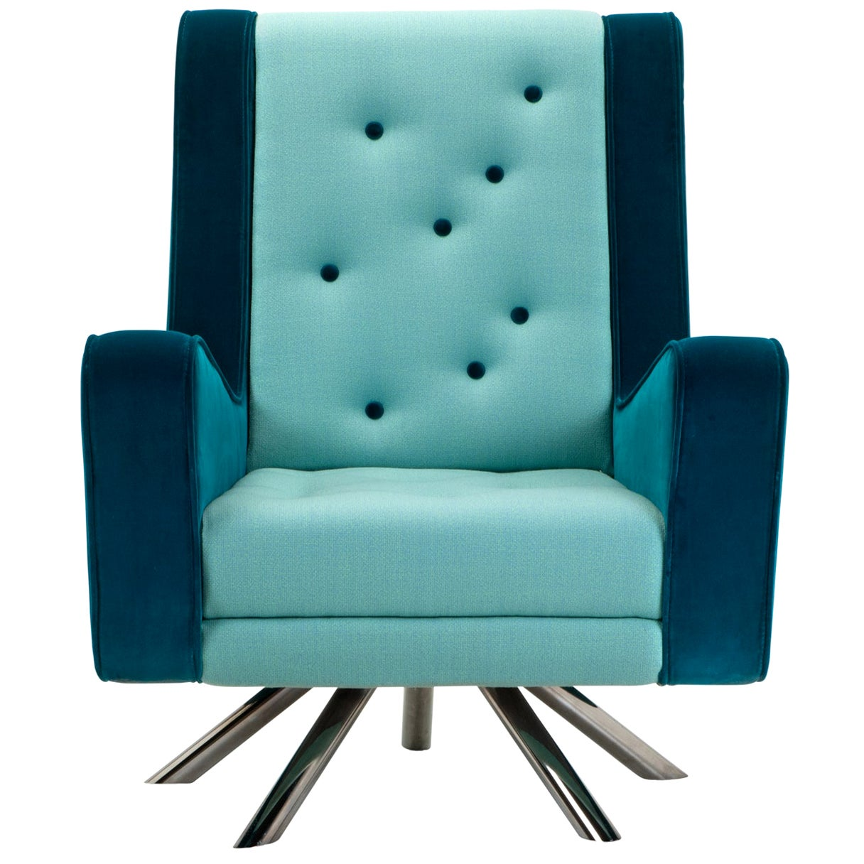 Gulp Armchair by Simone Micheli Light Blue