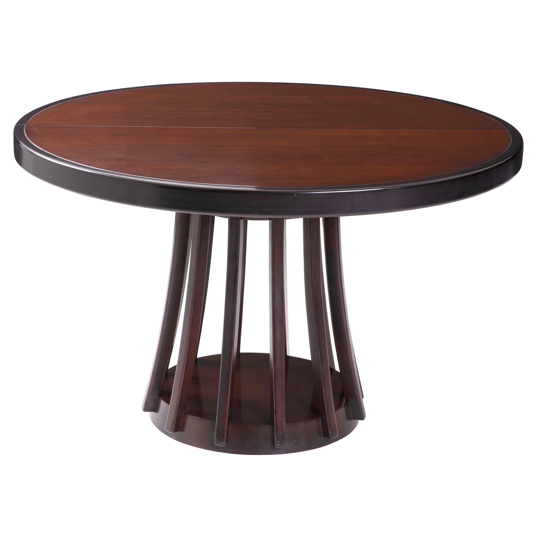 Mid-Century Modern Italian Angelo Mangiarotti Extendable Dining Table.1970s