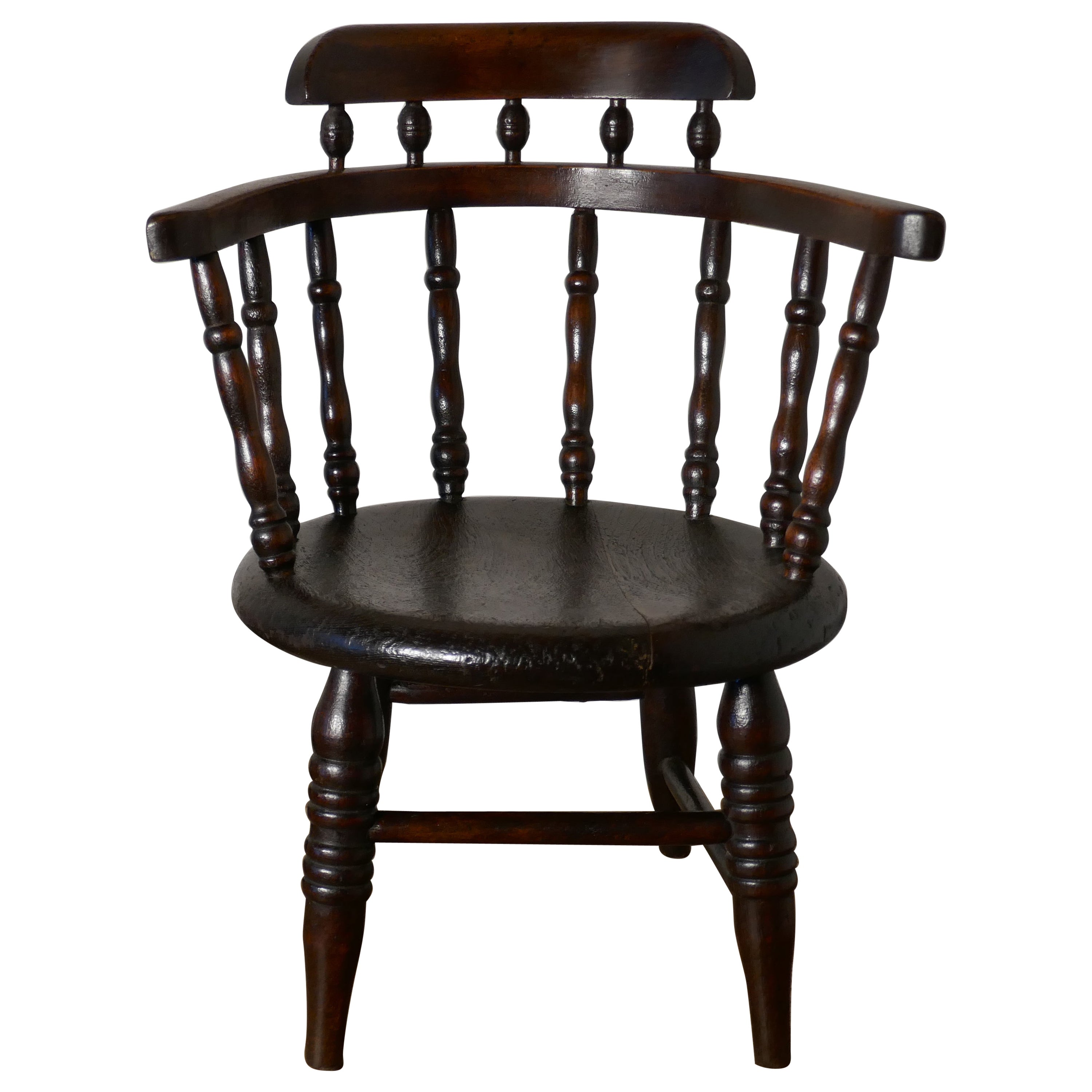 Childs Chair, in the Style of a Captain's Chair