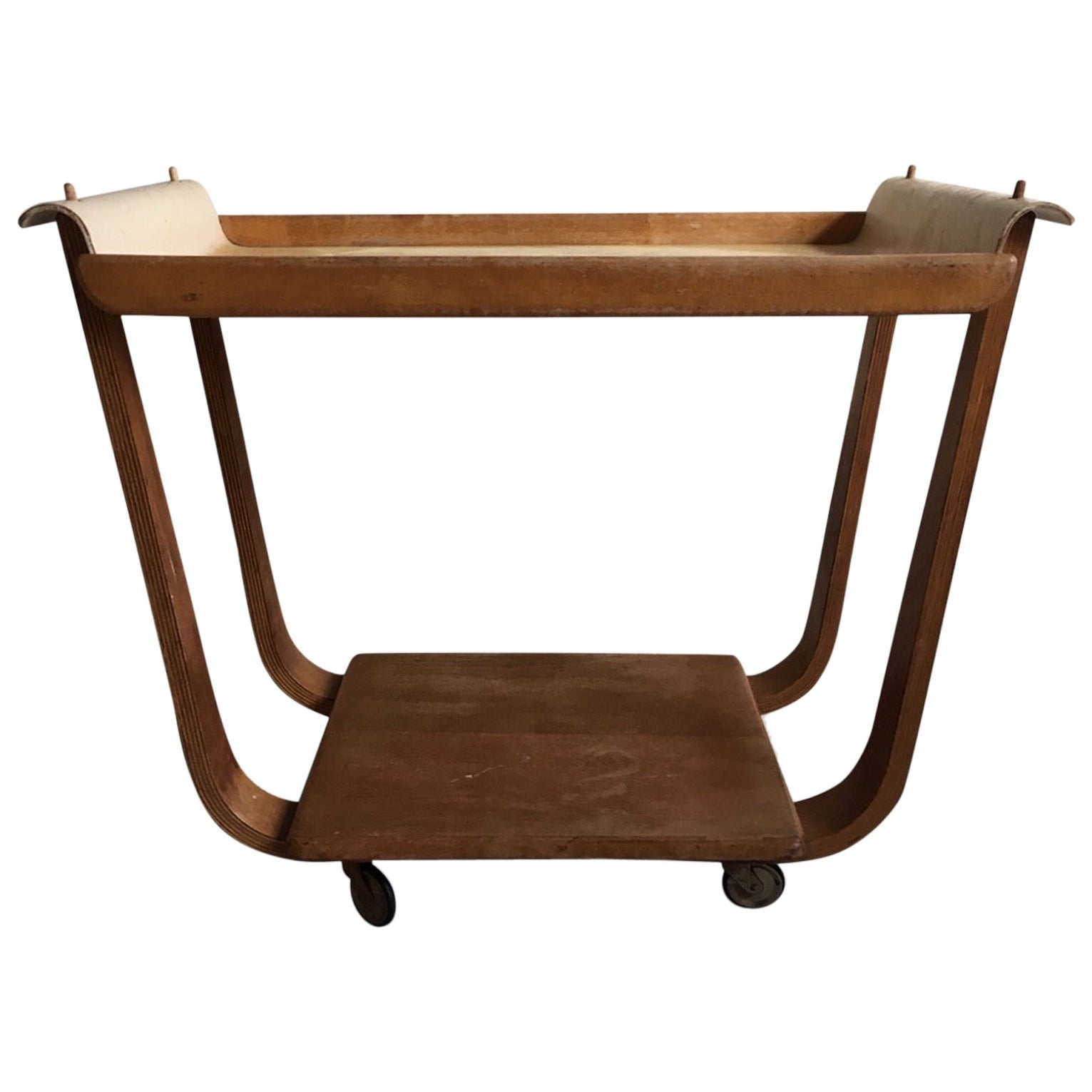 Cees Braakman Trolley, Serving Cart, UMS Pastoe, 1950s