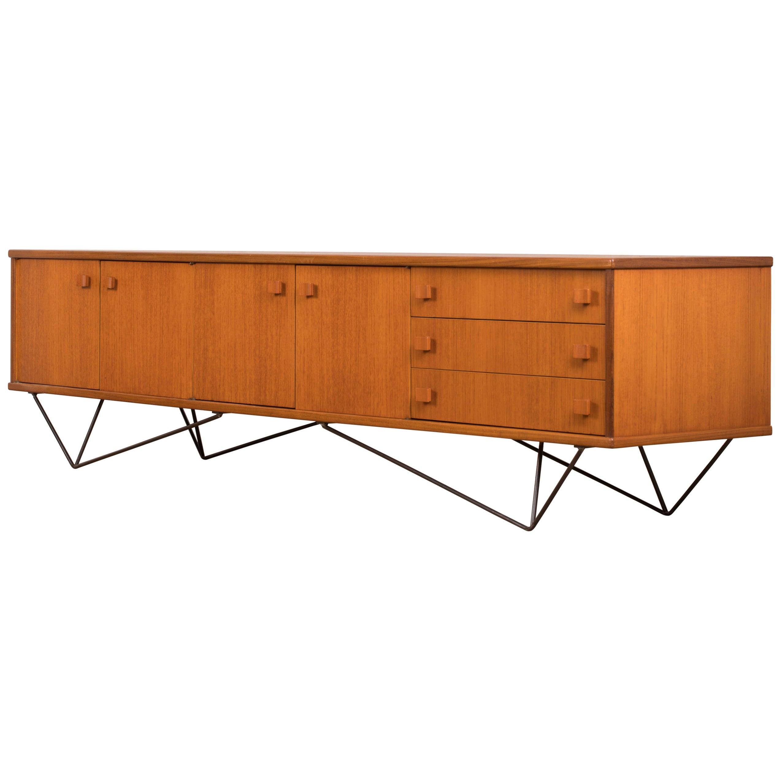 Teak Sideboard, Minimalist, 1960s