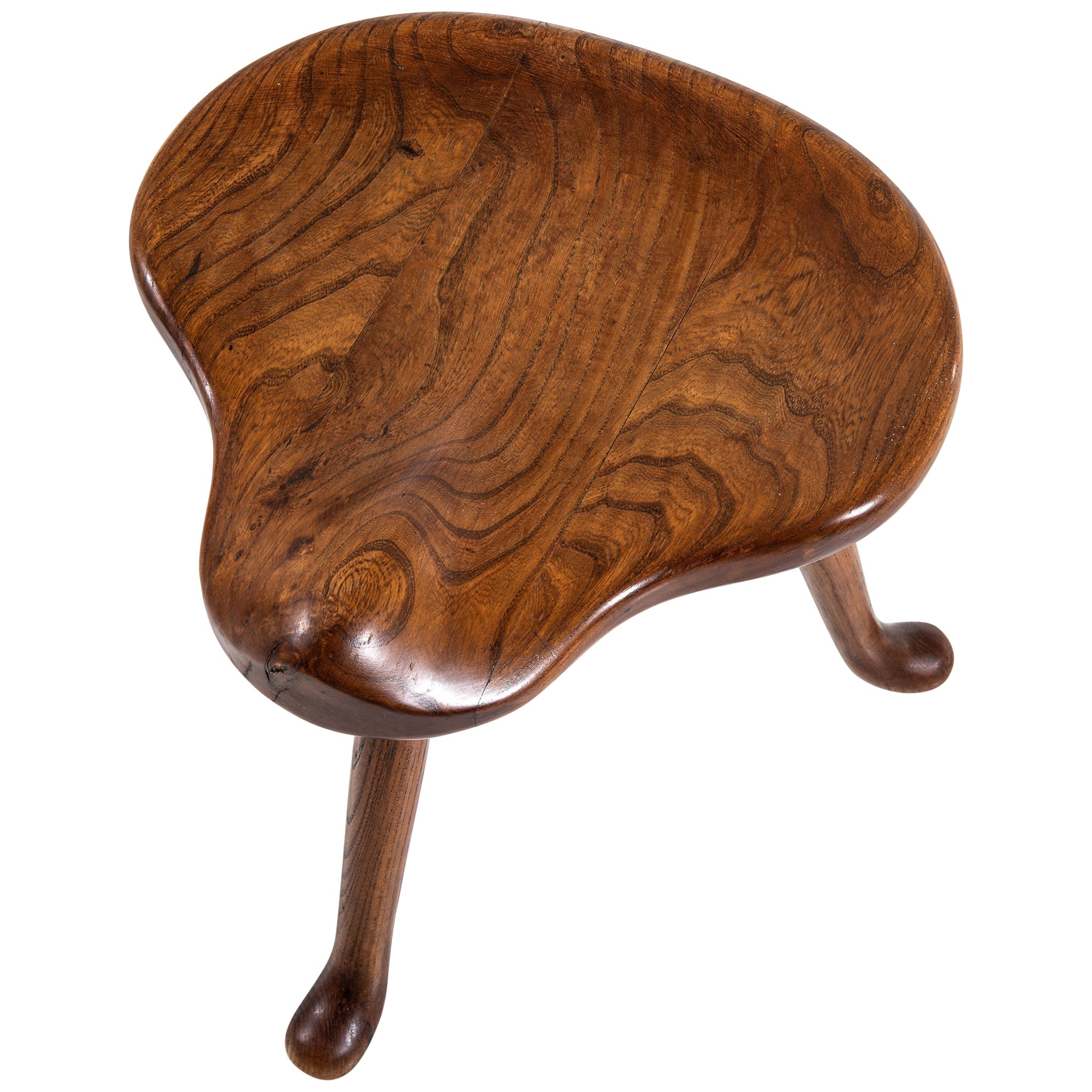 Josef Frank Stool in Oak Produced by Svenskt Tenn in Sweden