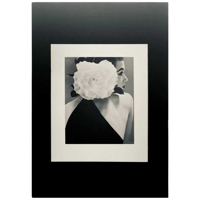 "Black and White Photo by Richard Avedon ""Barbara Mullen"" 1951 Sheet-Fed Gravure For Sale"