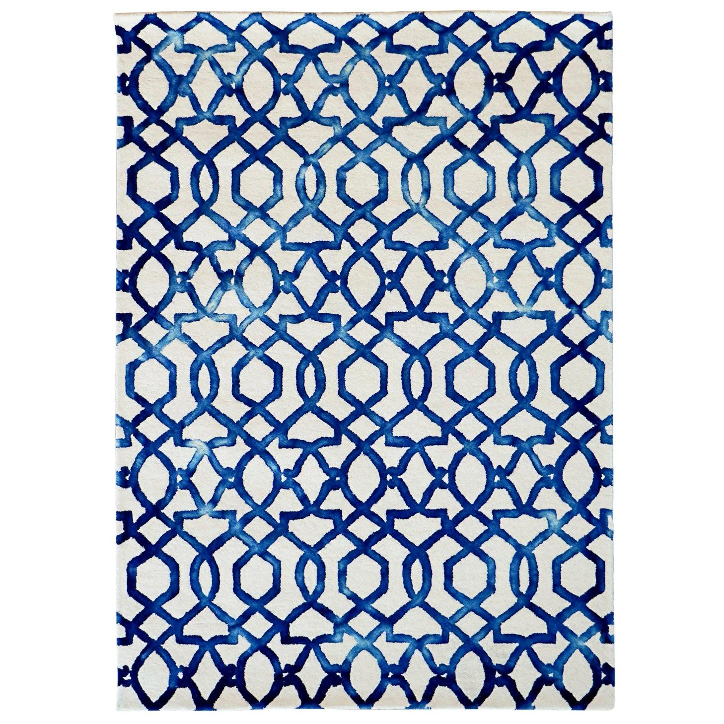 Casablanca Hand Woven Modern Rug New Zealand Wool by Deanna Comellini 140x200 cm